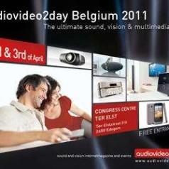 AudioVideo2day Belgium Show op 2 en 3 april