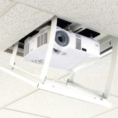 Projecta verstopt projector in plafond