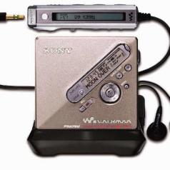 Sony stopt met MiniDisc Walkman