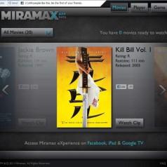 Miramax-films beschikbaar via Facebook