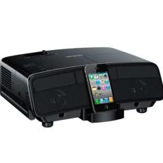 Verrassende projector van Epson met iPod-dock