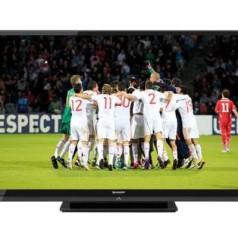 Sharp-tv doet het in 60-inch formaat