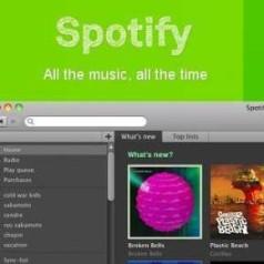 Spotify plots bereikbaar vanuit België