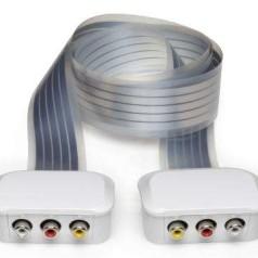 Onzichtbare kabels in de woonkamer met Scyse