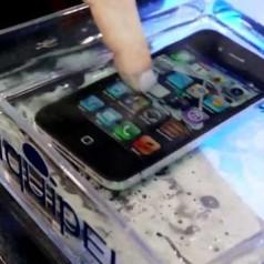 Nanocoating maakt smartphone waterbestendig