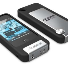 iPhone-case met ingebouwde versterker