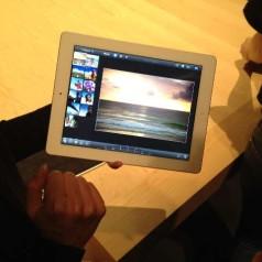 Foto: de nieuwe iPad en apps in beeld