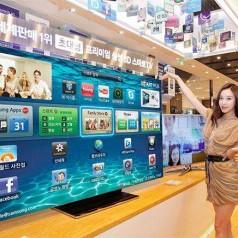 Samsung lanceert top-tv van 75 inch