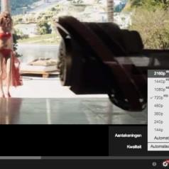 YouTube voegt 4K-optie toe