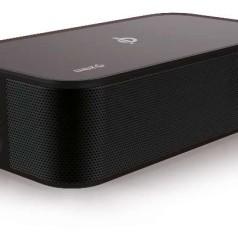 Bluetooth-speaker is ook draadloze lader