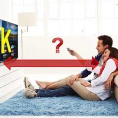 De ideale kijkafstand voor Ultra HD - 4K