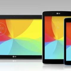 LG lanceert tablets in S-, M- en L-formaten