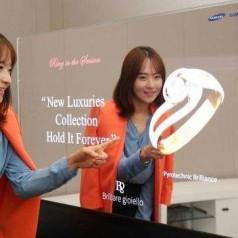 Samsung toont bijzondere Oled-displays