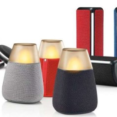 Drie nieuwe Bluetooth-speakers van LG