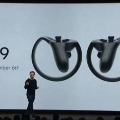 Oculus lanceert zijn Touch-controller op 6 december