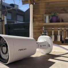 Review: Foscam FI9912P – draadloze en weerbestendige buitencamera