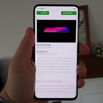 Review: Oppo Find X – futuristisch toestel met uitschuifbare camera