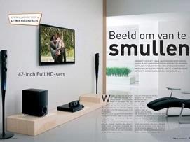 De complete vergelijkende test van 40- en 42-inch Full HD-sets vind je in FWD Magazine nummer 27.