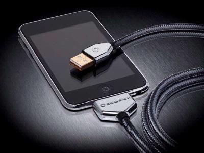 Fraaie iPod-kabels bij Oehlbach