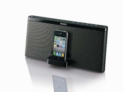 Sony doet de iPod-dock