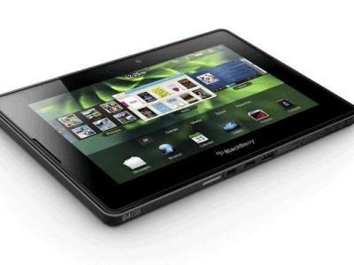 Blackberry PlayBook niet naar België.