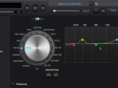 Software om muziek te beluisteren (Mac)