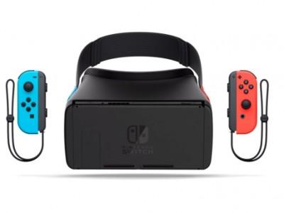 Nintendo Switch en virtual reality: creatieveling maakt het nu al mogelijk