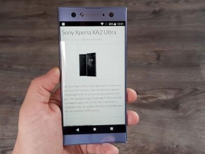 Review: Sony Xperia XA2 Ultra - solide smartphone met een iets te hoge prijs