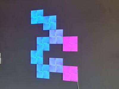 Review: Nanoleaf Canvas Smarter Kit – lichtgevend kunstwerk aan de muur