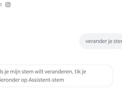 Mannenstem instellen voor Google Assistant: zo doe je dat