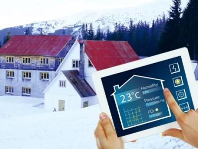 Slim de winter door met verlichting, klimaatbeheersing en veiligheid