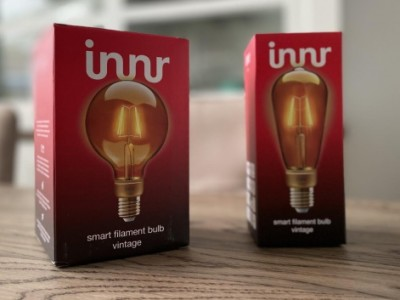 Review: Vintage Innr filamentlampen met E27-fitting (RF 264 en RF 261)