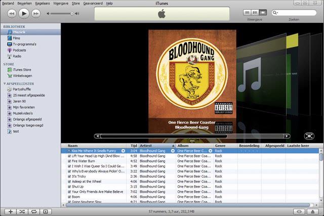 De CoverFlow van iTunes ziet er geweldig uit, maar we moeten ontbrekende albumcovers wel met de hand aanvullen.