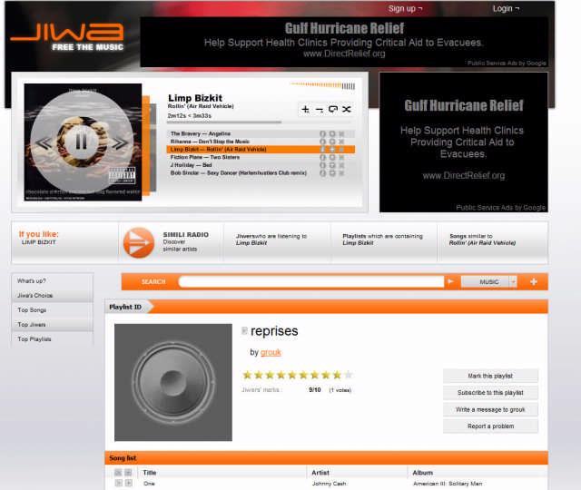 Jiwa: sociale muziekspeler met 400.000 nummers
