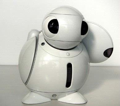 Schattige robot maakt afstandsbediening overbodig