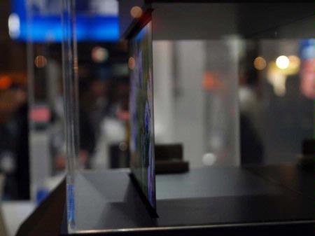 Nieuwe OLED-televisie Sony dun als papier