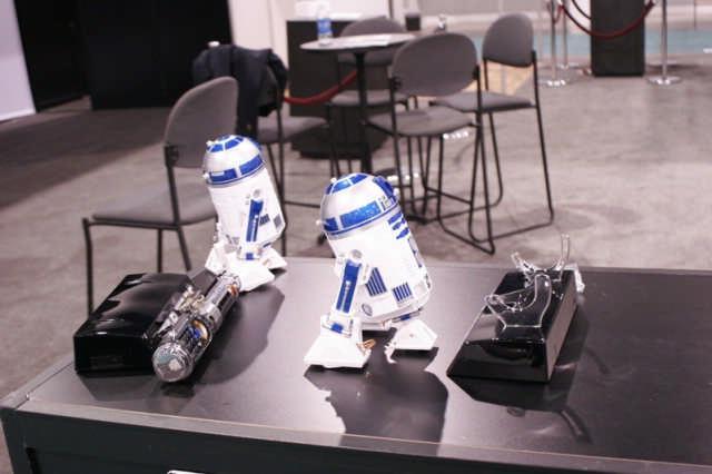 R2-D2-projecter en -webcam komen naar België