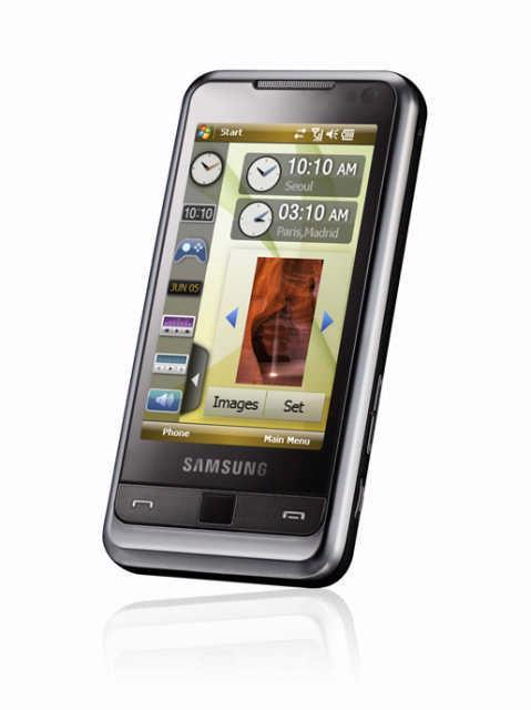 De Samsung Omnia i900.