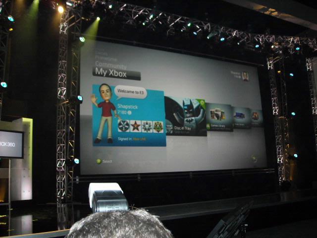 Avatars, spelen vanaf de harde schijf en meer resoluties voor de Xbox 360.