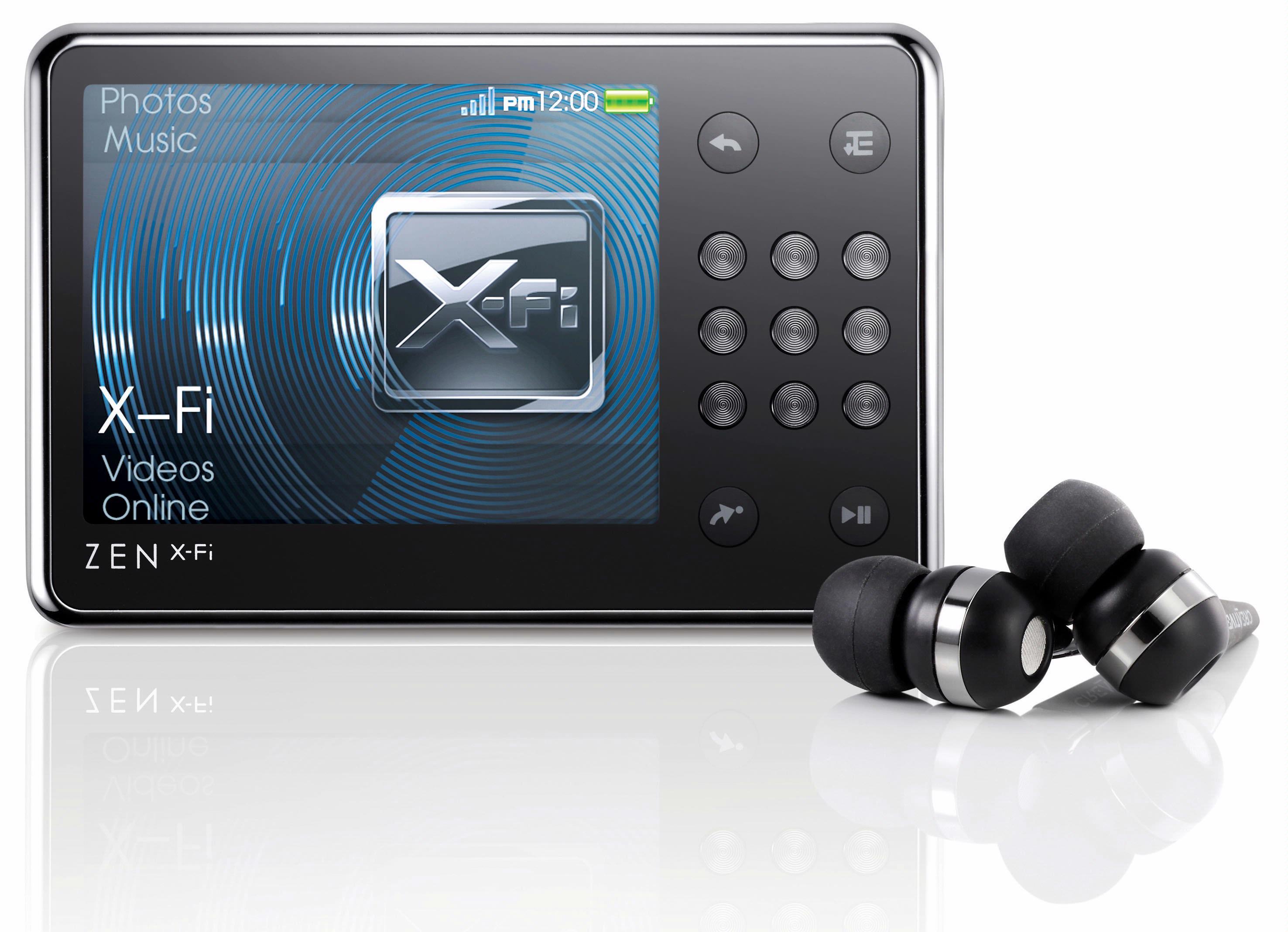 Zen X-Fi is uitgerust met WiFi en kan muziek streamen vanaf een pc.