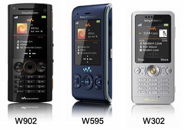 Sony Ericsson viert jubileum met drie nieuwe Walkman-telefoons