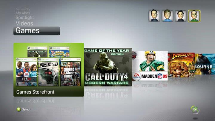 Nieuwe Xbox-interface lekt uit