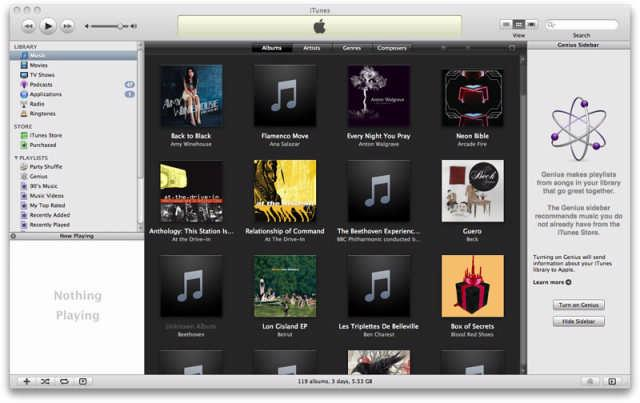 iTunes 8 laat Vista crashen