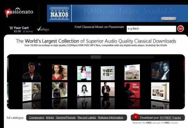 Downloadwinkel voor klassieke muziek mikt hoger