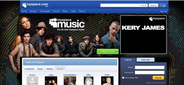 Myspace Music is in de VS gestart, al zijn minder grote platenmaatschappijen daar niet zo blij om.