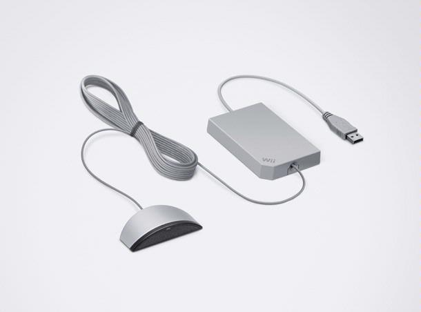 De Wii Speak is een microfoon die de hele huiskamer laat meepraten.
