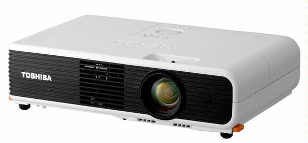 Sprekende projectoren Toshiba helpen beginnelingen