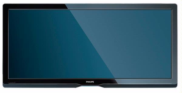 Philips presenteert een nieuwe breedbeeldtelevisie die het originele formaat van bioscoopfilms aankan.