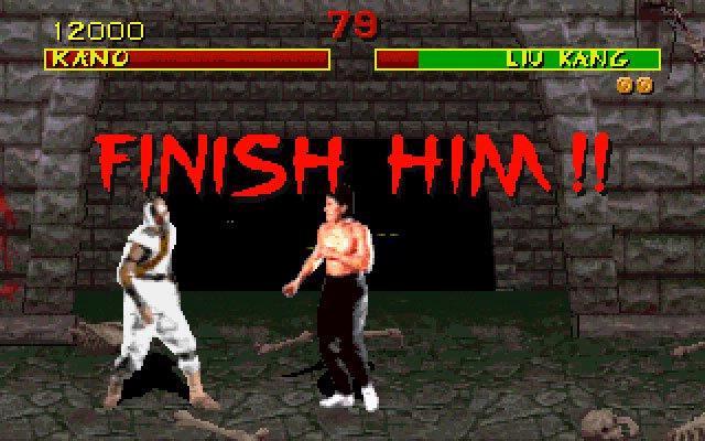De Mortal Kombat reeks verkreeg in 1992 internationaal bekendheid door uitermate bloederige en brute eindscènes aan ieder gevecht toe te voegen.