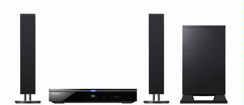 De BCS-FS500 is opgebouwd rondom een BD-Live-compatibele Blu-ray-speler